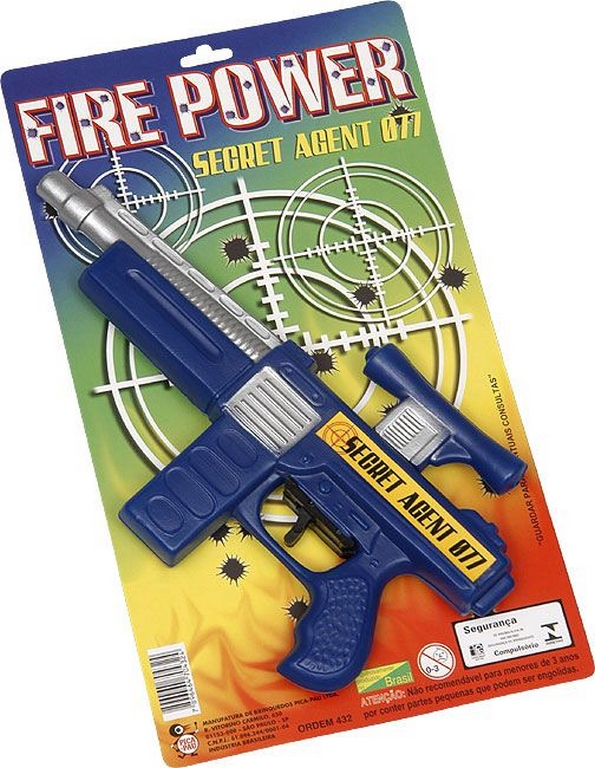 METRALHADORA FIRE POWER 28CM - REF.432