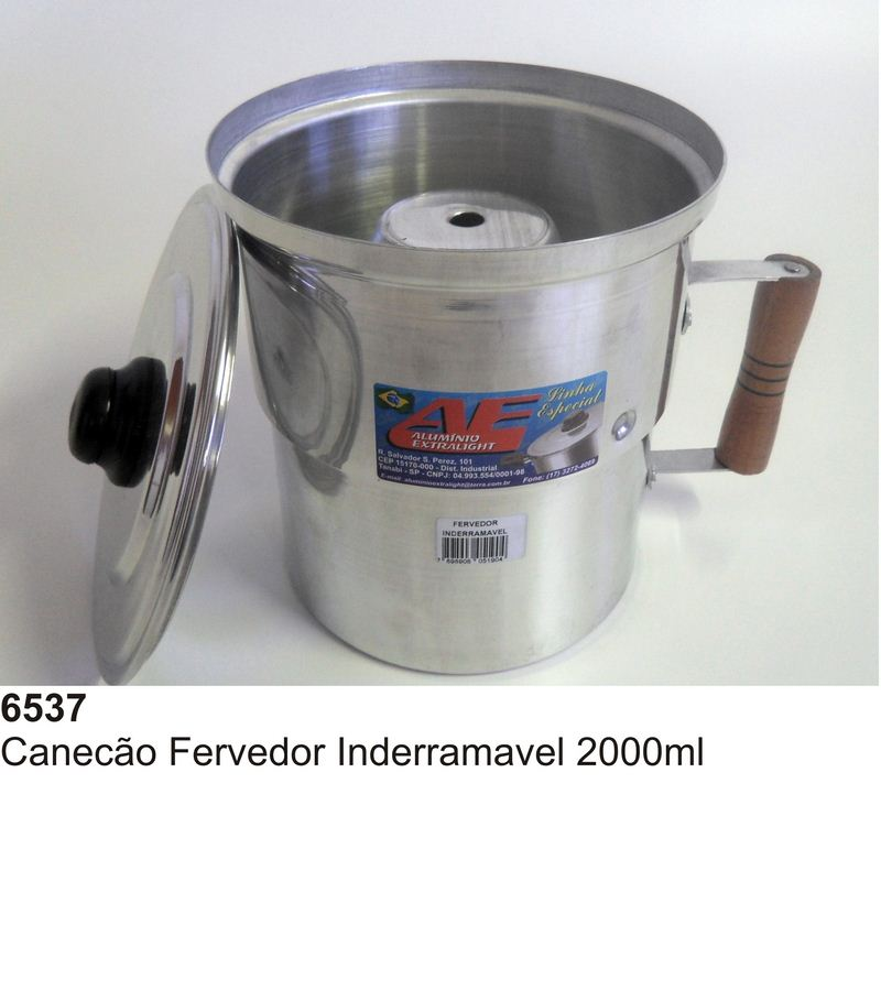 CANECAO FERVEDOR INDERRAMAVEL 2000ML