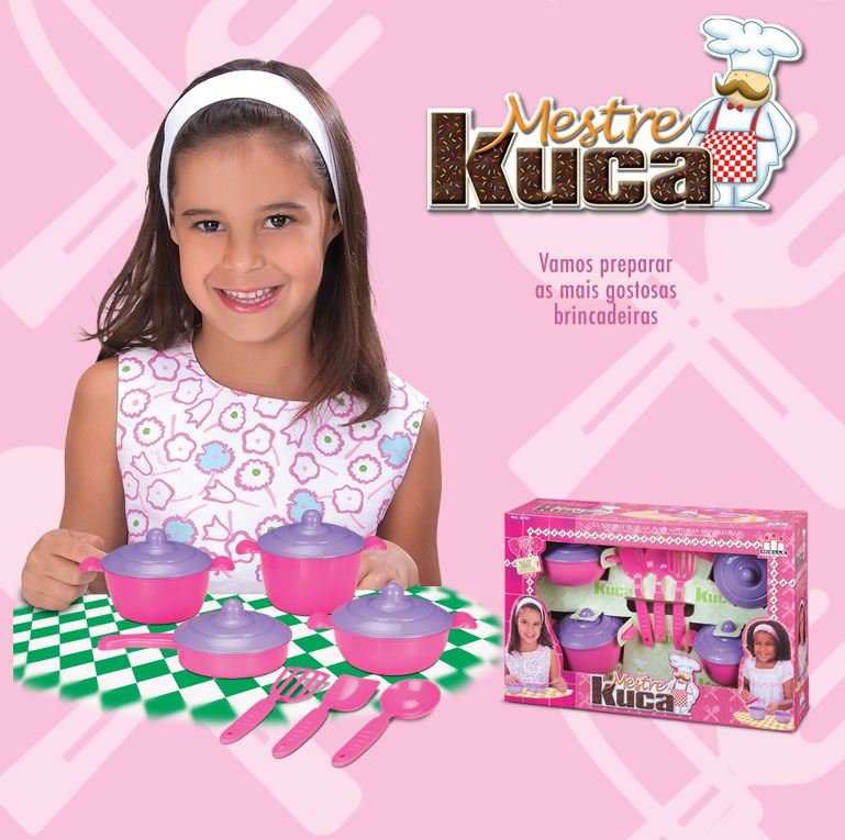 KIT MESTRE KUCA C/7 PC - REF. 101