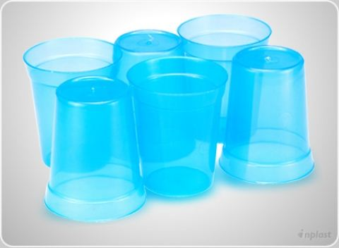 COPO PLAST. 250 ML C/ 6 PCS - REF.5502
