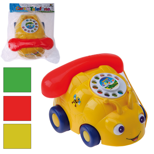 TELEFONE C/CARRO COLOR - REF.NY01326PB