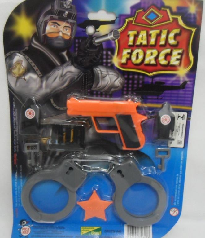 KIT TATIC FORCE C/ 06 PCS NA CARTELA 24X32CM -REF.640