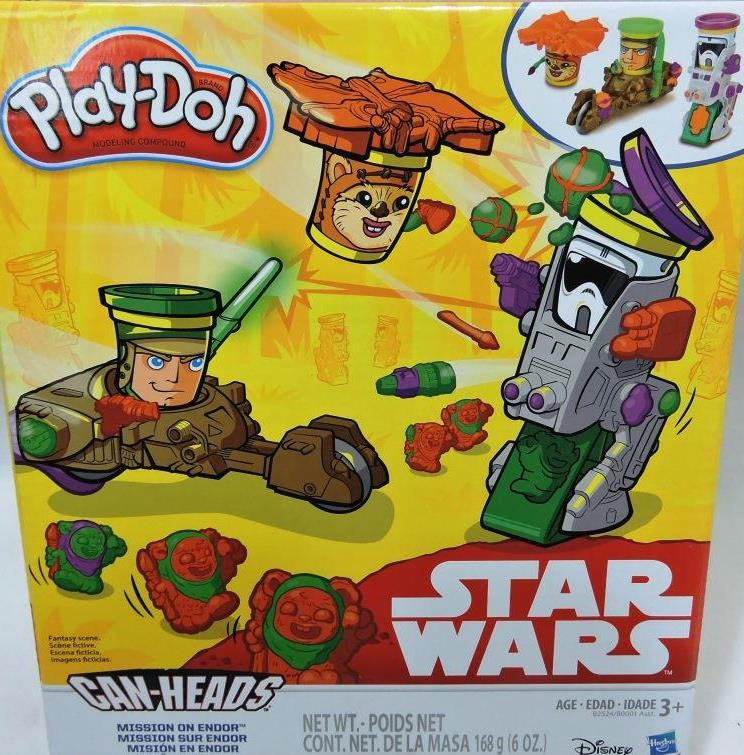 MASSINHA PLAY DOH STAR WARS VEICULO SORT. REF - B0001/10619