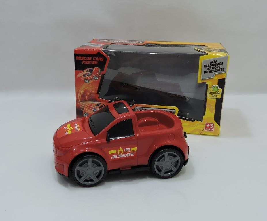 CARRO BOMBEIRO SAMBA CAR PICK UP14CM - REF 004