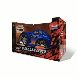 CARRO PLAST. FLASH EVOLUTION FRICCAO 23X12CM (NA CX) NOVO- REF.274
