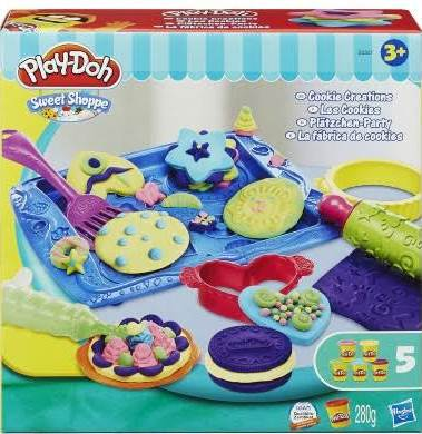 PLAY DOH MASSINHA C/ 5 POTES BISCOITOS DIVERTIDOS REF. B0307