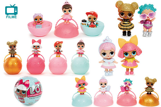 BONECA LOL MINI SURPRESAS 5 - LIL SISTER BALL REF.8901