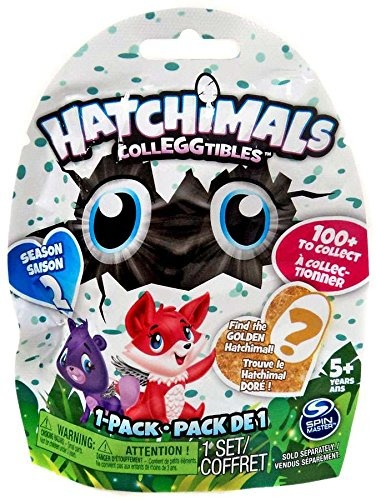 HATCHIMALS COLLEGGTIBLES SAQUINHO SURPRESA 1PÇ - 1870