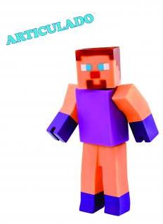 BONECO MINECRAFT VINIL SUPER BLOCKS 20CM REF.0857