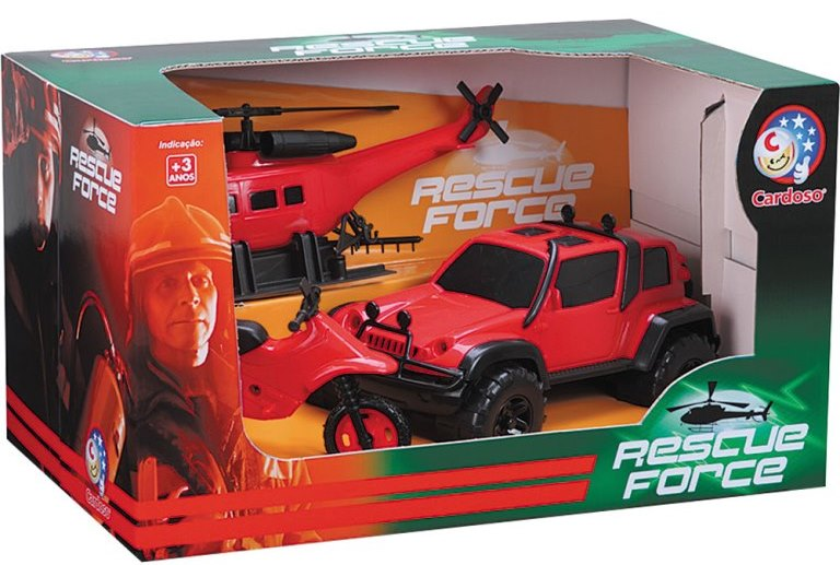CARRO PLAST. NEW RESCUE FORCES REF.1028