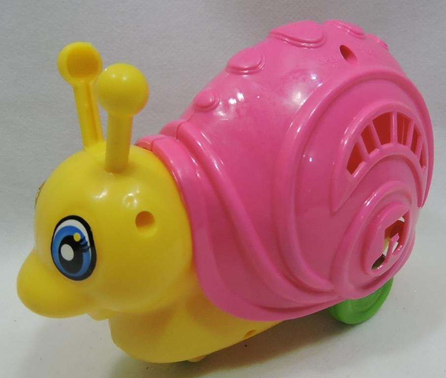 CARACOL PLAST. A CORDA MUSICAL TOYS 14CM - REF. TOYS-0431