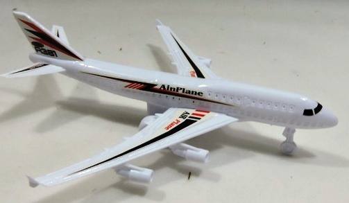 AVIAO PLAST. PULL BACK AINPLANE A381 18CM - MS-0278/TOYS-180234