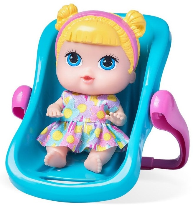 BONECA BABYS COLLECTION MINI BEBE CONFORTO 7CM REF.340