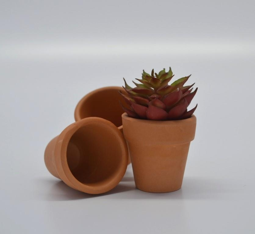VASO CERAMICA RED. MINI 3,8X3,8CM - GL1207