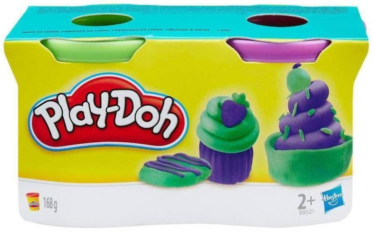 PLAY DOH KIT C/ 2 POTES (236556290) B8521/23655