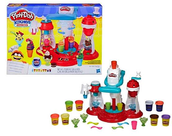 PLAY DOH SUPER MAQUINA DE SORVETES - E1935